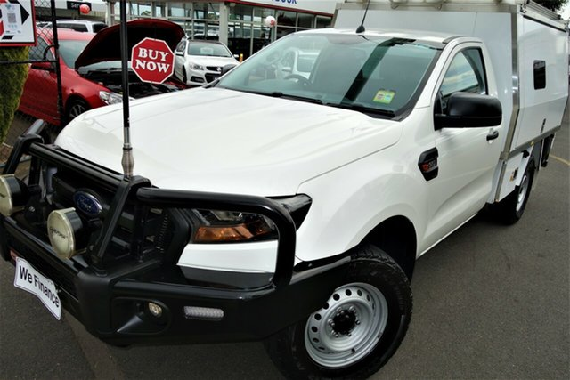 Used Ford Ranger PX MkII XL Seaford, 2016 Ford Ranger PX MkII XL White 6 Speed Sports Automatic Cab Chassis