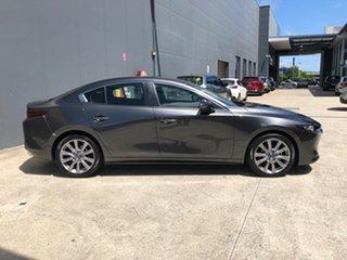 2020 Mazda 3 BP2S7A G20 SKYACTIV-Drive Evolve Machine Grey 6 Speed Sports Automatic Sedan.