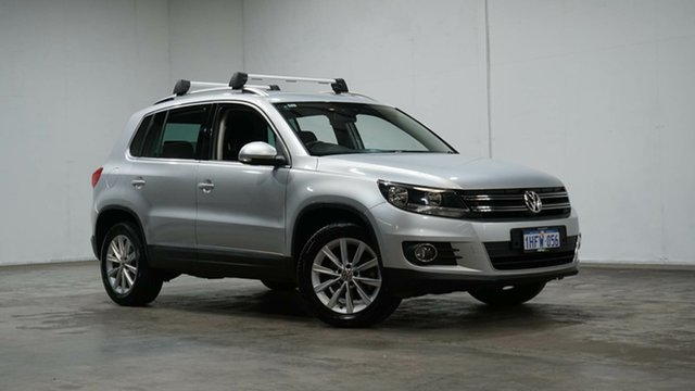Used Volkswagen Tiguan 5N MY15 132TSI DSG 4MOTION Welshpool, 2015 Volkswagen Tiguan 5N MY15 132TSI DSG 4MOTION Silver 7 Speed Sports Automatic Dual Clutch Wagon
