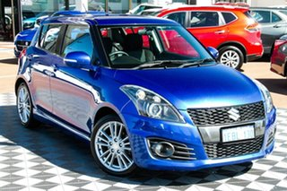 2012 Suzuki Swift FZ Sport Blue 7 Speed Constant Variable Hatchback