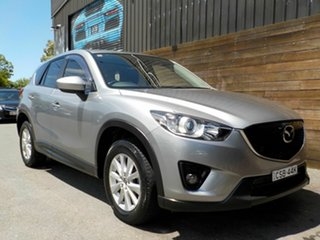 2014 Mazda CX-5 KE1021 MY14 Maxx SKYACTIV-Drive AWD Sport Silver 6 Speed Sports Automatic Wagon.