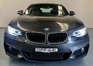 2017 BMW 2 Series F22 230i M Sport Mineral Grey 8 Speed Sports Automatic Coupe