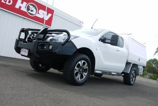 2016 Mazda BT-50 UR0YG1 XT Freestyle White 6 Speed Sports Automatic Cab Chassis.