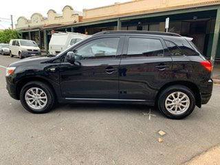 2011 Mitsubishi ASX XA MY12 2WD Black 6 Speed Constant Variable Wagon