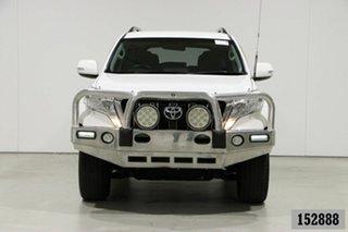 2014 Toyota Landcruiser Prado KDJ150R MY14 GXL (4x4) White 5 Speed Sequential Auto Wagon.