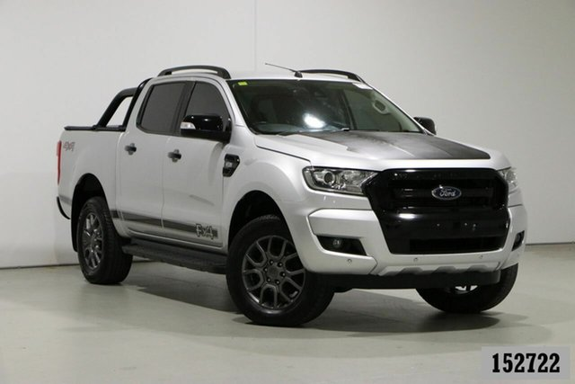 Used Ford Ranger PX MkII MY18 FX4 Special Edition Bentley, 2018 Ford Ranger PX MkII MY18 FX4 Special Edition Silver 6 Speed Automatic Double Cab Pick Up