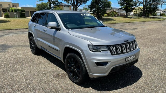 Demo Jeep Grand Cherokee WK MY20 Night Eagle Port Macquarie, 2020 Jeep Grand Cherokee WK MY20 Night Eagle Billet 8 Speed Sports Automatic Wagon