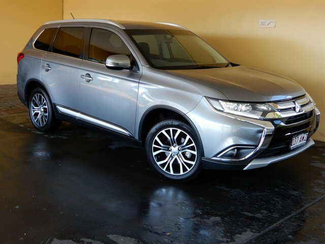 Used Mitsubishi Outlander ZK MY16 LS (4x4) Toowoomba, 2016 Mitsubishi Outlander ZK MY16 LS (4x4) Grey Continuous Variable Wagon