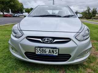 2011 Hyundai Accent RB Elite Sleek Silver 4 Speed Sports Automatic Sedan