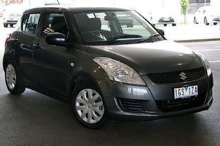 2013 Suzuki Swift FZ GA Grey 4 Speed Automatic Hatchback.