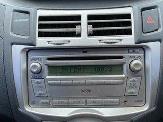 2008 Toyota Yaris NCP90R Rush Black 4 Speed Automatic Hatchback