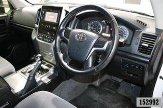 2016 Toyota Landcruiser VDJ200R MY16 GXL (4x4) White 6 Speed Automatic Wagon
