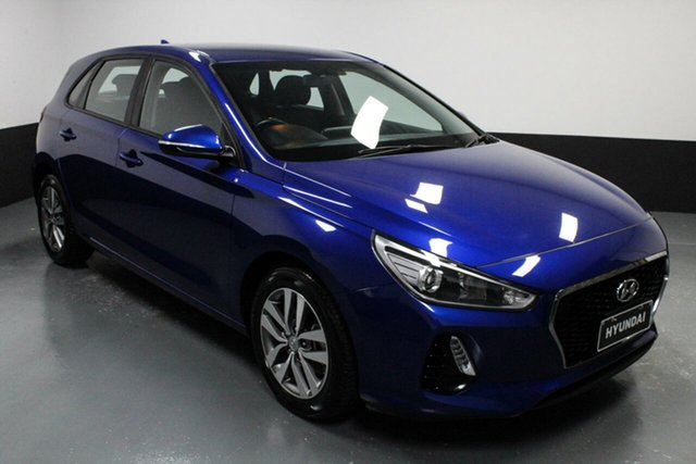 Used Hyundai i30 PD2 MY19 Active Cardiff, 2019 Hyundai i30 PD2 MY19 Active Blue 6 Speed Sports Automatic Hatchback