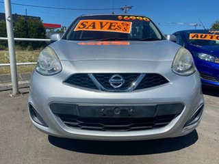 2015 Nissan Micra K13 Series 4 MY15 ST Silver 5 Speed Manual Hatchback