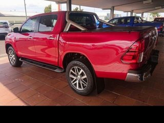 2015 Toyota Hilux GUN126R SR5 (4x4) Olympia Red 6 Speed Manual Dual Cab Utility.