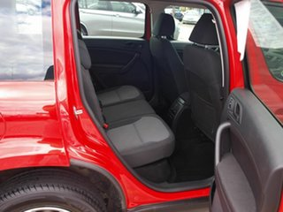 2011 Skoda Yeti 5L 77TSI DSG Red 7 Speed Sports Automatic Dual Clutch Wagon