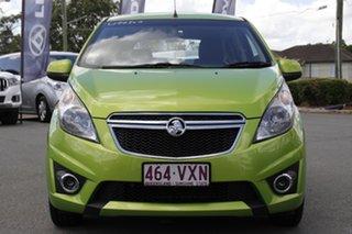 2015 Holden Barina Spark MJ MY15 CD Fresh Lime Green/black 4 Speed Automatic Hatchback
