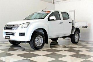 2014 Isuzu D-MAX TF MY15 SX HI-Ride (4x2) White 5 Speed Automatic Cab Chassis.