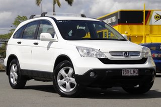 2008 Honda CR-V RE MY2007 Special Edition 4WD Taffeta White 5 Speed Automatic Wagon.