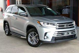 2019 Toyota Kluger GSU55R GXL AWD Silver, Chrome 8 Speed Sports Automatic Wagon.