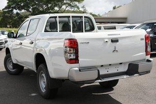 2019 Mitsubishi Triton MR MY20 GLX Double Cab ADAS White 6 Speed Manual Utility.