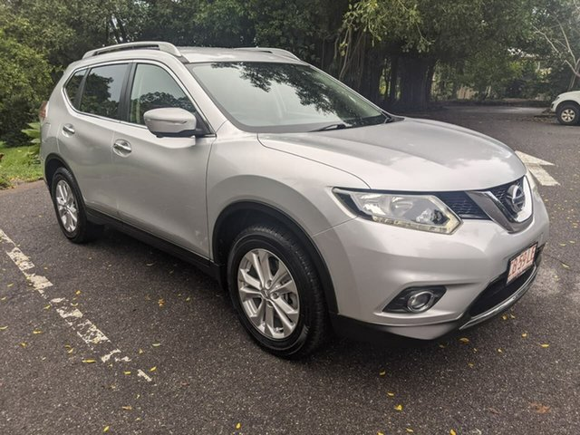 Used Nissan X-Trail T32 ST-L X-tronic 2WD Stuart Park, 2014 Nissan X-Trail T32 ST-L X-tronic 2WD Silver 7 Speed Constant Variable Wagon