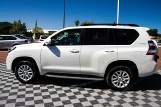 2015 Toyota Landcruiser Prado KDJ150R MY14 VX White 5 Speed Sports Automatic Wagon