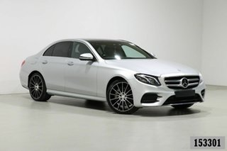 2016 Mercedes-Benz E350 213 D Silver 9 Speed Automatic G-Tronic Sedan.