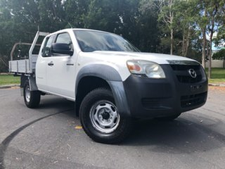 2007 Mazda BT-50 B3000 Freestyle DX+ White 5 Speed Manual Cab Chassis.