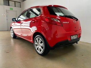 2011 Mazda 2 DE MY12 Neo Red 4 Speed Automatic Hatchback