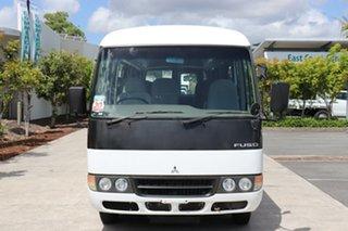 2011 Mitsubishi Rosa BE64D Deluxe White Manual Midi Coach.
