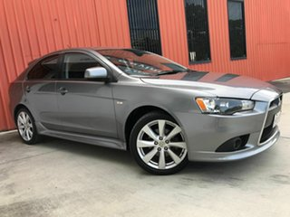 2014 Mitsubishi Lancer CJ MY14.5 GSR Sportback Grey 6 Speed Constant Variable Hatchback.