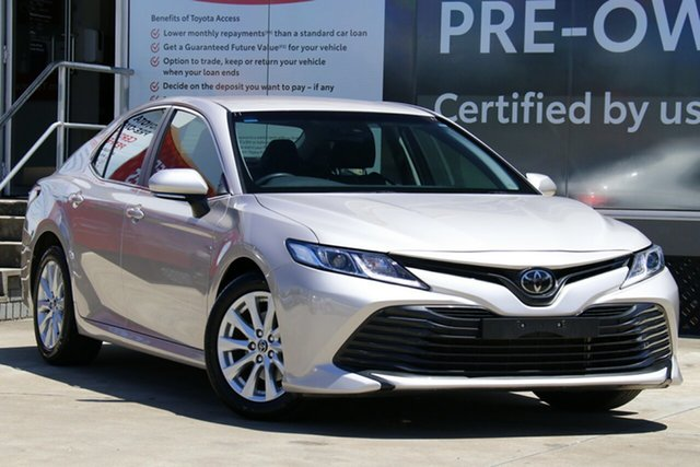 Pre-Owned Toyota Camry ASV70R Ascent Guildford, 2019 Toyota Camry ASV70R Ascent Steel Blonde 6 Speed Sports Automatic Sedan