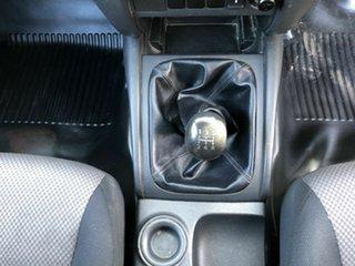 2016 Mitsubishi Triton MQ MY16 GLX 4x2 Silver 5 Speed Manual Cab Chassis
