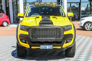 2017 Ford Ranger PX MkII XLS Double Cab Yellow 6 Speed Sports Automatic Utility