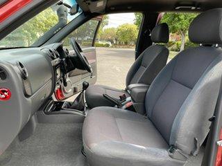 2010 Isuzu D-MAX LS-U Red 5 Speed Manual Dual Cab