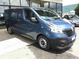 2017 Renault Trafic X82 MY17 SWB Blue 6 Speed Manual Van.