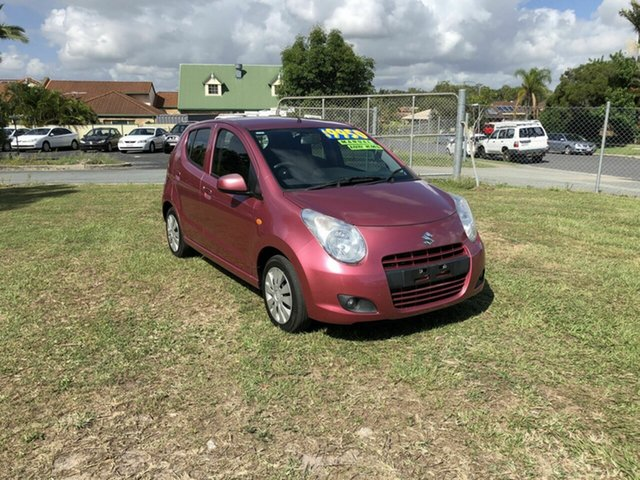 Used Suzuki Alto GF GL Kippa-Ring, 2013 Suzuki Alto GF GL Pink 5 Speed Manual Hatchback