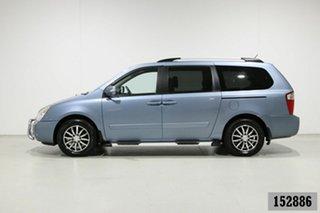 2011 Kia Grand Carnival VQ MY11 Platinum Blue 6 Speed Automatic Wagon