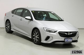 2018 Holden Commodore ZB RS Silver 9 Speed Automatic Liftback