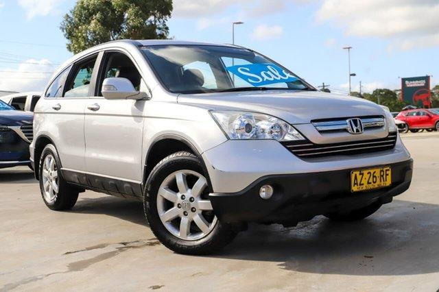 Used Honda CR-V RE MY2007 Luxury 4WD Kirrawee, 2008 Honda CR-V RE MY2007 Luxury 4WD Silver 5 Speed Automatic Wagon