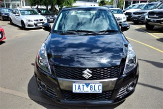 2014 Suzuki Swift FZ MY14 Sport Black 6 Speed Manual Hatchback