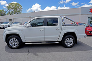 2012 Volkswagen Amarok 2H MY13 TDI400 4Mot Highline Candy White 6 Speed Manual Utility