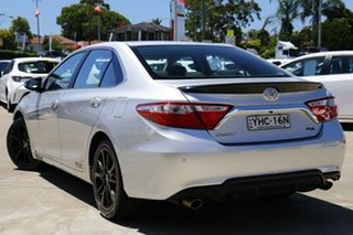 2017 Toyota Camry ASV50R RZ Silver 6 Speed Automatic Sedan.