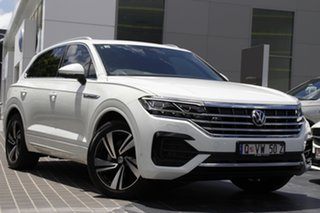 2020 Volkswagen Touareg CR MY20 190TDI Tiptronic 4MOTION Premium Pure White 8 Speed Sports Automatic