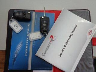 2012 Kia Cerato TD MY12 Extra Silver 6 Speed Sports Automatic Hatchback
