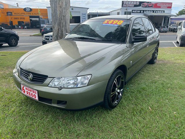 Used Holden Commodore VY Executive Clontarf, 2002 Holden Commodore VY Executive Gold 4 Speed Automatic Sedan