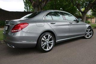 2014 Mercedes-Benz C-Class W204 MY14 C200 7G-Tronic + Grey 7 Speed Sports Automatic Sedan.