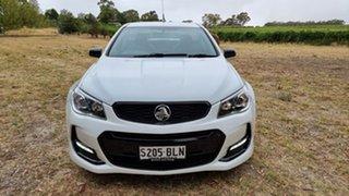 2016 Holden Ute VF II MY16 SV6 Ute Black White 6 Speed Sports Automatic Utility.