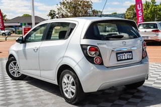 2012 Holden Barina TM Silver 5 Speed Manual Hatchback.